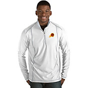 Antigua Men's Phoenix Suns Tempo White Quarter-Zip Pullover