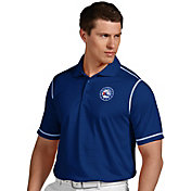 Antigua Men's Philadelphia 76ers Icon Royal Performance Polo