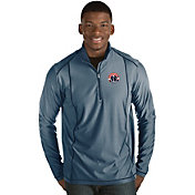 Antigua Men's Washington Wizards Tempo Navy Quarter-Zip Pullover