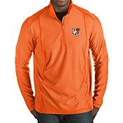 Antigua Men's Bowling Green Falcons Orange Tempo Half-Zip Pullover