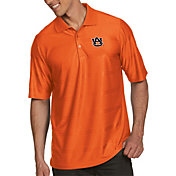 Antigua Men's Auburn Tigers Orange Illusion Polo