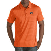 Antigua Men's Auburn Tigers Orange Quest Polo