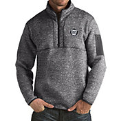 Antigua Men's Butler Bulldogs Grey Fortune Pullover Jacket