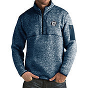 Antigua Men's Butler Bulldogs Blue Fortune Pullover Jacket