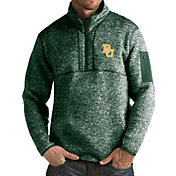Antigua Men's Baylor Bears Green Fortune Pullover Jacket