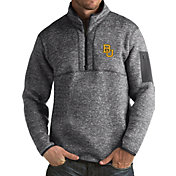 Antigua Men's Baylor Bears Grey Fortune Pullover Jacket