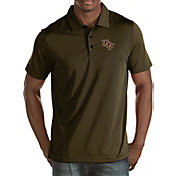 Antigua Men's UCF Knights Black/Gold Quest Polo