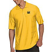 Antigua Men's Cal Golden Bears Gold Illusion Polo
