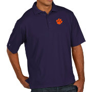 Antigua Men's Clemson Tigers Regalia Pique Xtra-Lite Polo
