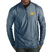 Antigua Men's Cal Golden Bears Blue Tempo Half-Zip Pullover