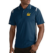 Antigua Men's Cal Golden Bears Merit Xtra-Lite White Polo