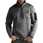 Antigua Men's Colorado Buffaloes Black Fortune Pullover Jacket