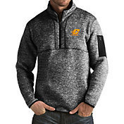 Antigua Men's Central Michigan Chippewas Black Fortune Pullover Jacket