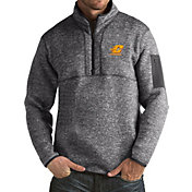 Antigua Men's Central Michigan Chippewas Grey Fortune Pullover Jacket
