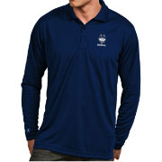 Antigua Men's UConn Huskies Blue Exceed Long Sleeve Polo