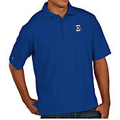 Antigua Men's Creighton Bluejays Blue Pique Xtra-Lite Polo