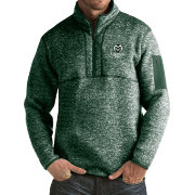 Antigua Men's Colorado State Rams Green Fortune Pullover Jacket