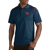 Antigua Men's Dayton Flyers Merit Xtra-Lite Red Polo