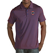 Antigua Men's Florida Gators Blue/Orange Quest Polo