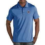 Antigua Men's Florida Gators Blue/White Quest Polo