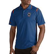 Antigua Men's Florida Gators Merit Xtra-Lite Blue Polo