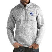 Antigua Men's Air Force Falcons Grey Fortune Pullover Jacket