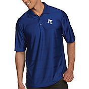Antigua Men's Air Force Falcons Blue Illusion Polo