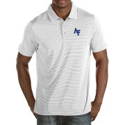 Antigua Men's Air Force Falcons White Quest Polo