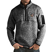 Antigua Men's Florida State Seminoles Black Fortune Pullover Jacket