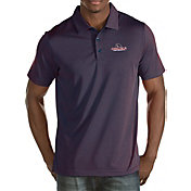 Antigua Men's Gonzaga Bulldogs Red Quest Polo