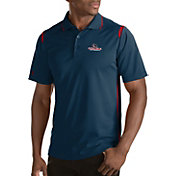 Antigua Men's Gonzaga Bulldogs Merit Xtra-Lite Red Polo