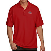 Antigua Men's Gonzaga Bulldogs Red Pique Xtra-Lite Polo