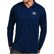 Antigua Men's Georgia Southern Eagles Navy Exceed Long Sleeve Polo