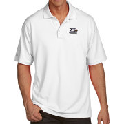 Antigua Men's Georgia Southern Eagles White Pique Xtra-Lite Polo