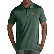 Antigua Men's Ohio Bobcats Green Quest Polo