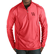 Antigua Men's Houston Cougars Red Tempo Half-Zip Pullover
