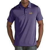 Antigua Men's James Madison Dukes Purple Quest Polo