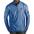 Antigua Men's Kansas Jayhawks Blue Tempo Half-Zip Pullover