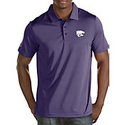 Antigua Men's Kansas State Wildcats Purple Quest Polo