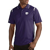 Antigua Men's Kansas State Wildcats Merit Xtra-Lite White Polo