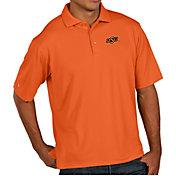 Antigua Men's Oklahoma State Cowboys Orange Pique Xtra-Lite Polo