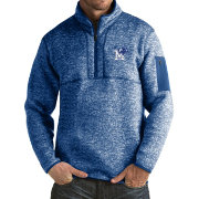 Antigua Men's Memphis Tigers Blue Fortune Pullover Jacket
