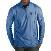 Antigua Men's Memphis Tigers Blue Tempo Half-Zip Pullover