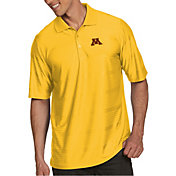 Antigua Men's Minnesota Golden Gophers Gold Illusion Polo