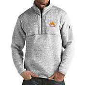 Antigua Men's Minnesota Golden Gophers Grey Fortune Pullover Jacket