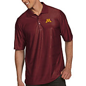 Antigua Men's Minnesota Golden Gophers Maroon Illusion Polo