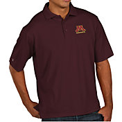 Antigua Men's Minnesota Golden Gophers Maroon Pique Xtra-Lite Polo