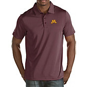 Antigua Men's Minnesota Golden Gophers Maroon Quest Polo