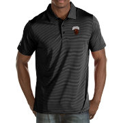 Antigua Men's Montana Grizzlies Black Quest Polo