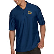 Antigua Men's Marquette Golden Eagles Blue Illusion Polo
